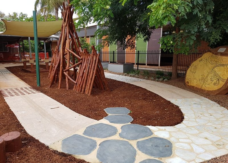 South Hedland Child Care Centre YMCA Nature Playgrounds 1