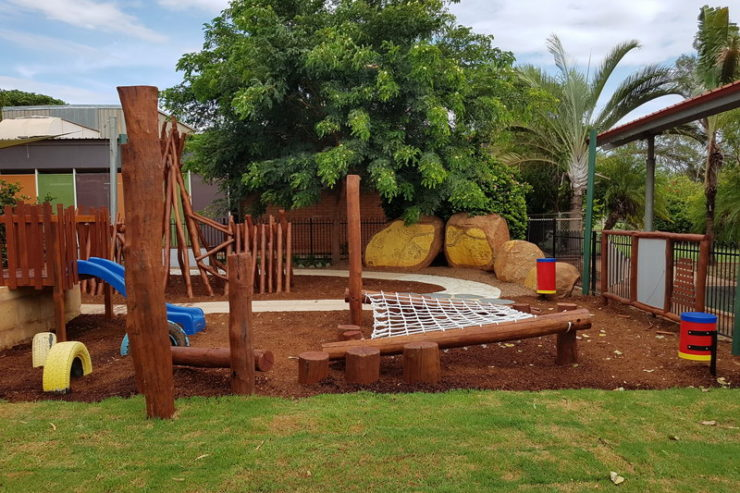 South Hedland Child Care Centre YMCA Nature Playgrounds 2
