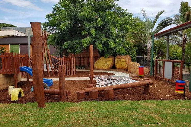 South Hedland Child Care Centre YMCA Nature Playgrounds 2