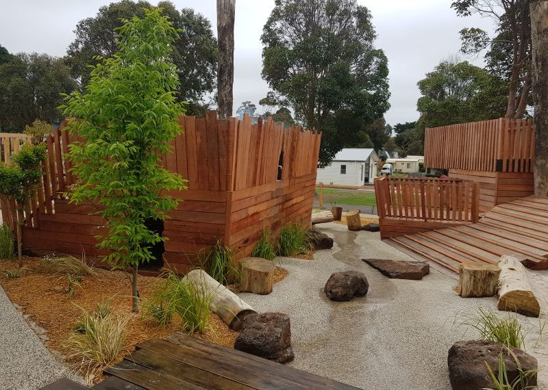 Big 4 Holiday Park Anglesea Nature Playgrounds 3