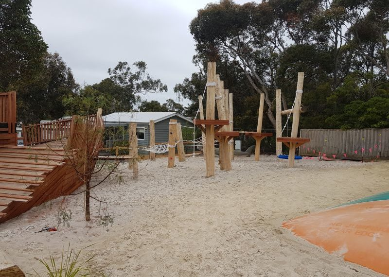 Big 4 Holiday Park Anglesea Nature Playgrounds 4