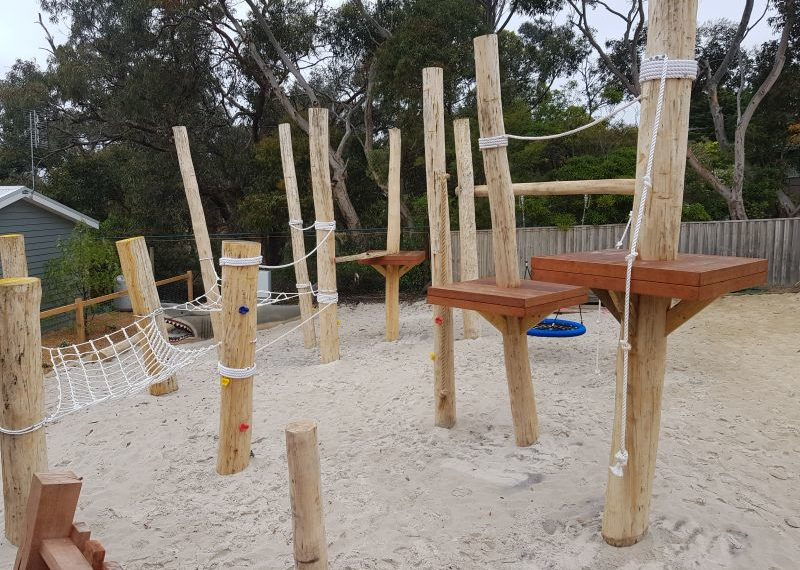 Big 4 Holiday Park Anglesea Nature Playgrounds 6