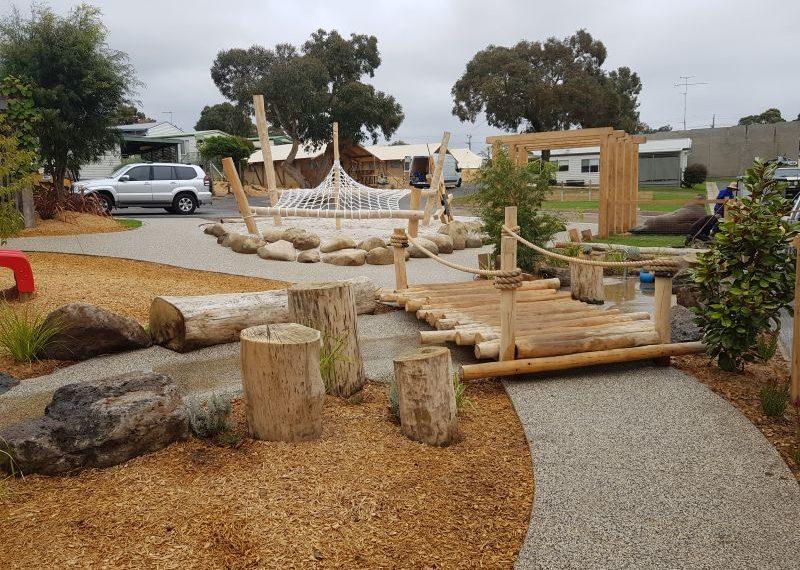 Big 4 Holiday Park Anglesea Nature Playgrounds 9