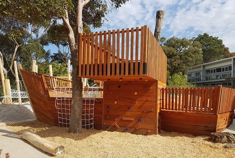 Nature Playgrounds Cubbies and Forts