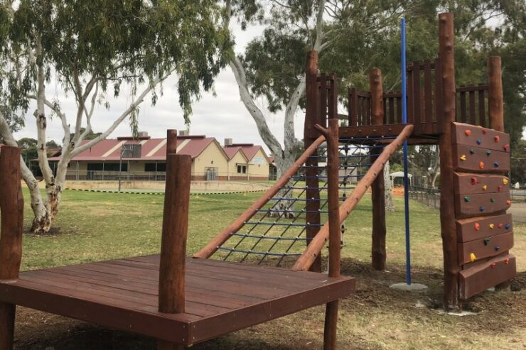 York DHS Nature Playgrounds #6