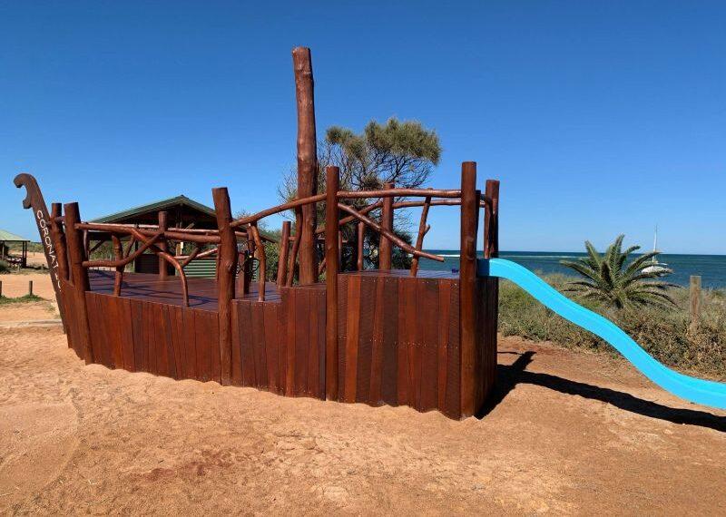 Coronation Beach - Nature Playgrounds#8