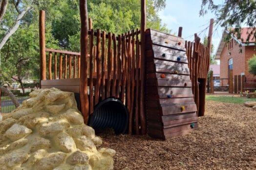 St Columbas PS - Nature Playgrounds#1